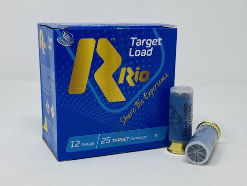 "Rio Target 12 Gauge Ammunition TL28LR9 2-3/4"" 1 oz #9 Shot CASE 250 Rounds"