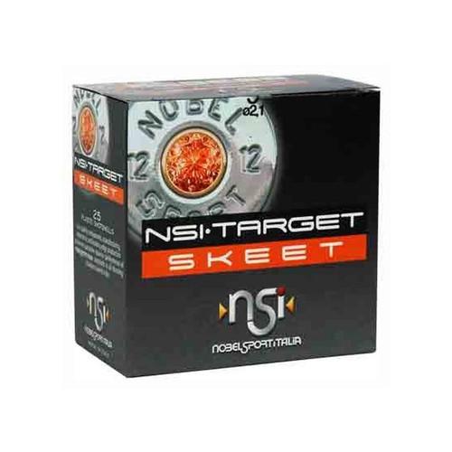 """Nobel Sport Italia 12 Gauge Ammunition ANSL129CASE 2-3/4"""" 1-1/8 oz 9 Shot Skeet CASE 250 Rounds"""