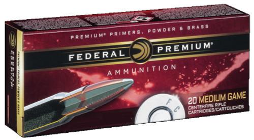 Federal Premium 6mm Rem Ammunition P6C 100 Grain Nosler Soft Point 20 Rounds