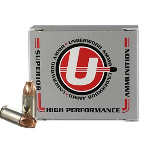 Underwood 9mm Luger +P Ammunition UW816 90 Grain Xtreme Defender 20 Rounds