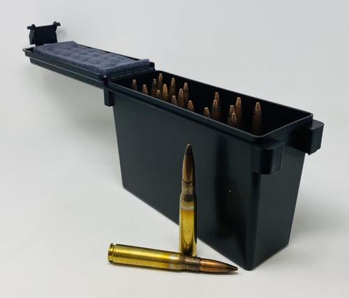 Maine Cartridge Company 50 BMG M2 Ammunition MCC50BMGAPCAN 700 Grain Black Tip Armor Piercing Full Metal Jacket CAN 20 Rounds