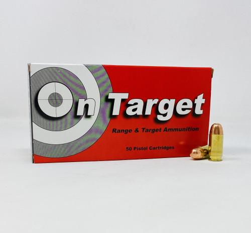 On Target 45 ACP *REMAN* Ammunition OT45230 230 Grain Full Metal Jacket 50 Rounds