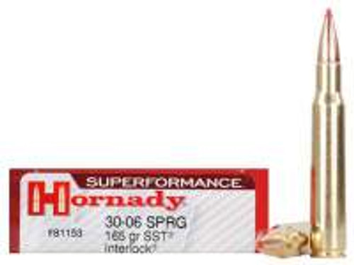 Hornady 30-06 Superformance H81153 165 gr SST 20 rounds