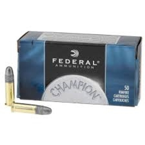 Federal 22LR Ammunition 714 40 Grain Lead Round Nose 500 rounds