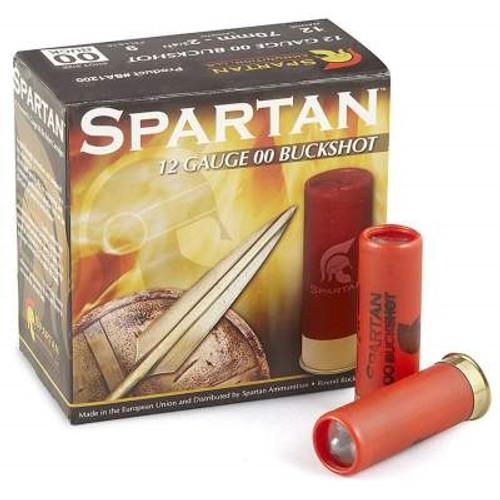 "Spartan 12 Gauge Ammunition SA1200 2-3/4"" 00 Buckshot 9 Pellets 1315fps CASE 250 rounds"