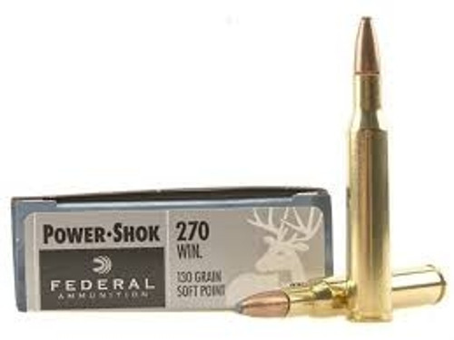 Federal 270 Win Power-Shok F270A 130 gr SP 20 rounds
