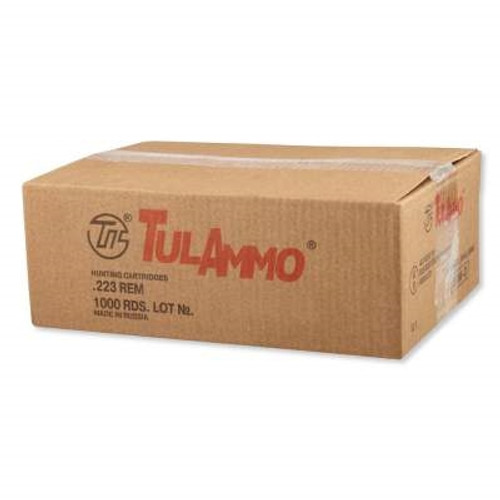 Tula 223 Remington Ammunition TA223622 62 Grain Full Metal Jacket CASE 1000 rounds