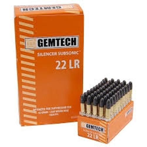GEMTECH 22LR Silencer Subsonic 42 gr GSS22 50 rounds