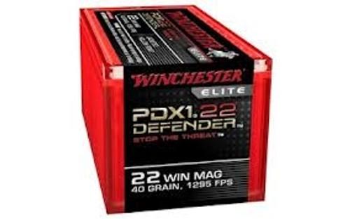 Winchester 22 WMR Defender Elite S22MPDX1 40gr JHP 50 rounds