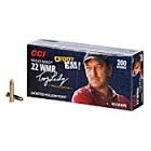 CCI 0958 22WMR Maxi-Mag Choot Em! 40 gr JHP CASE 2000 rounds