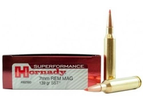 Hornady 7mm Rem Mag Superformance H80593 139 gr SST 20 rounds
