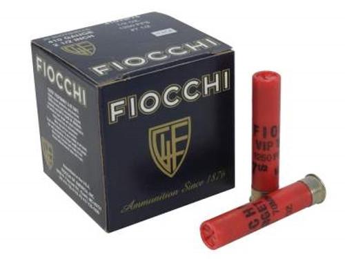 """Fiocchi 410 Bore Ammunition 410VIP75 2-1/2"""" 1250fps 1/2oz 7.5 shot Case of 250 Rounds"""