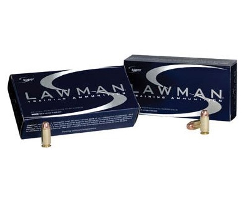 CCI 40 S&W Ammunition Speer Lawman 53652 180 Grain Total Metal Jacket 50 Rounds