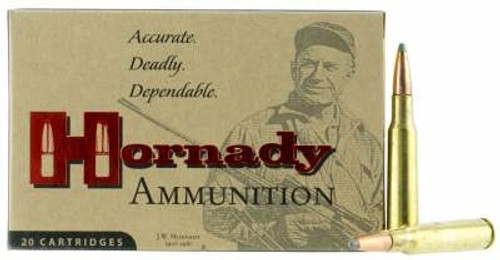 Hornady 275 Rigby Custom Ammunition Interlock H8070 140 Grain Spire Point 20 Rounds