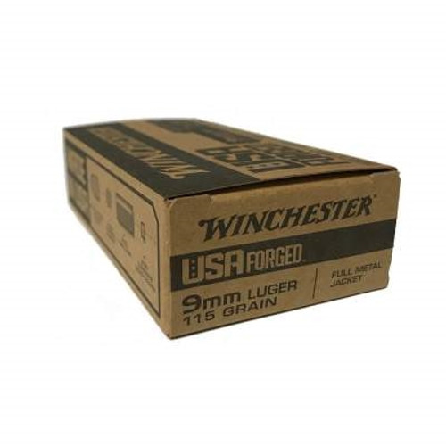 Winchester 9mm USA Forged Steel Casings WIN9S 115 gr FMJ 50 rounds