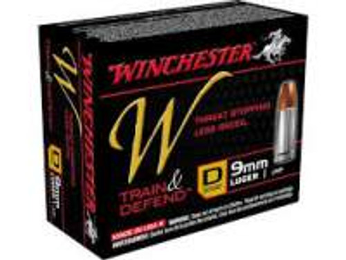 Winchester 9mm Defend W9MMD 147gr JHP 20 rounds