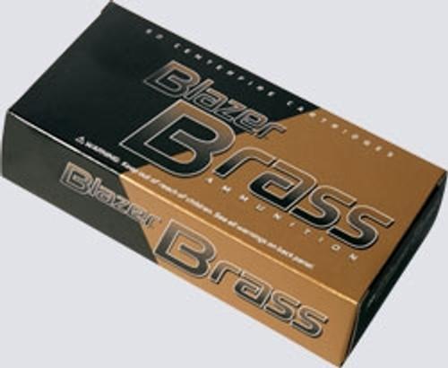 CCI 38 Special Blazer Brass CCI5204 125 gr FMJ 50 rounds