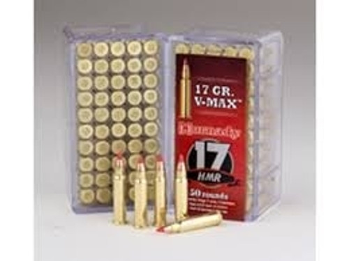 Hornady 17 HMR Ammunition H83170 17GR V-MAX Brick of 500 Rounds