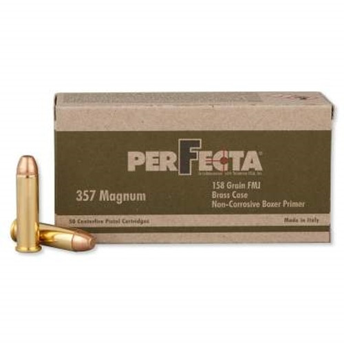 Perfecta 357 Magnum Ammo 158 Grain Full Metal Jacket PF357000CASE 1000 rounds