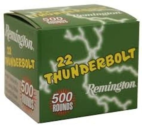 Remington 22LR Ammunition Thunderbolt TR21241 40 Grain Case of 5000 Rounds