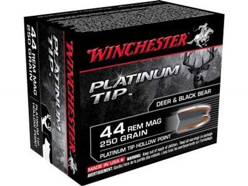 Winchester 44 Magnum Supreme S44PTHP 250 gr Platinum Tip HP 20 rounds