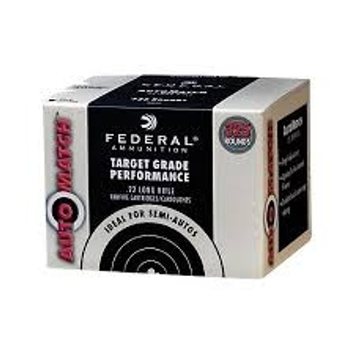 Federal 22LR Auto Match AM22 40g LRN CASE 3250 rounds