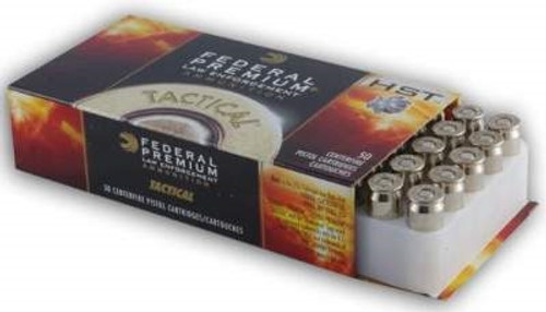 Federal 45 Auto HST Tactical P45HST2 230 gr JHP 50 rounds