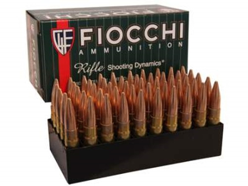 Fiocchi 300 AAC Blackout Ammunition FI300BLKC 150 Grain Full Metal Jacket Boat Tail 50 rounds