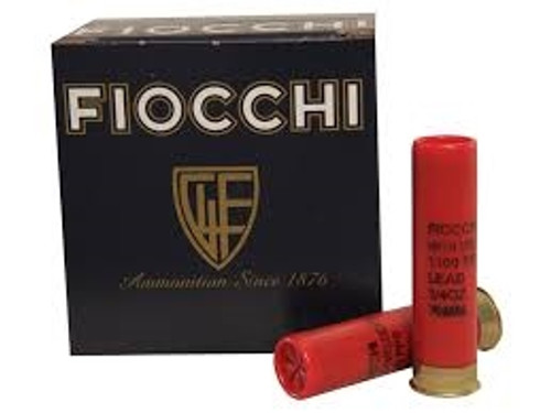 "Fiocchi 28 Gauge Ammunition 28HV9 2-3/4"" #9 Chilled Lead Shotshell 3/4 oz 1300 fps Case of 250 Rounds"