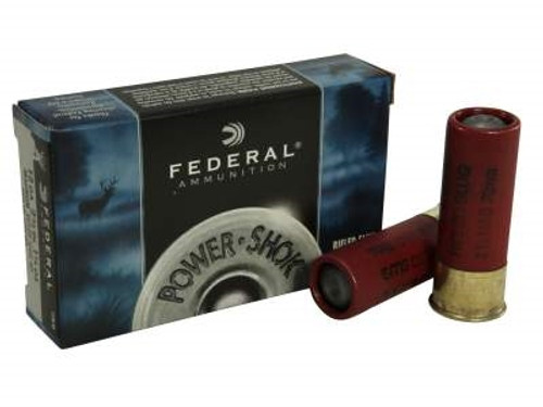 "Federal 12 Gauge Ammunition F130RS 2-3/4"" 1-1/4oz Hollow Point Rifled Slug 1520fps 5 rounds"