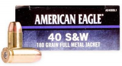 Federal 40 S&W Ammunition C.O.P.S AE40BBL1 180 Grain Full Metal Jacket 50 rounds