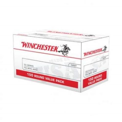 Winchester 223 Rem Ammunition W223150 55 Grain Full Metal Jacket Value Pack 150 Rounds