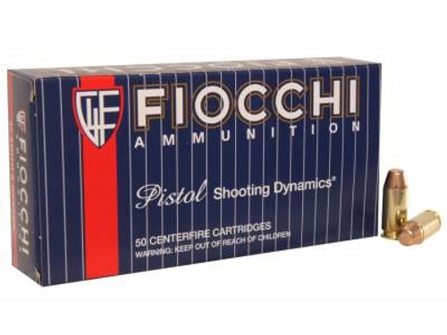 Fiocchi 40 S&W Ammunition FI40SWA 170 Grain Full Metal Jacket Truncated Cone 50 rounds