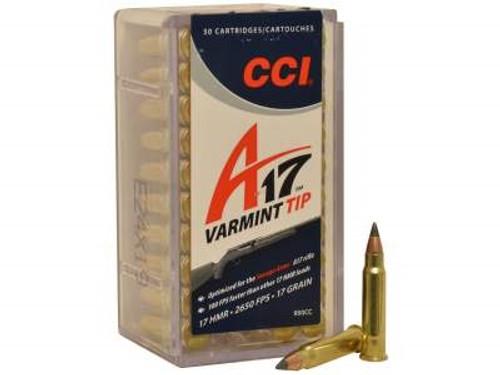 CCI 17 HMR A17 CCI950CC 17 Grain Varmint Tip 50 rounds