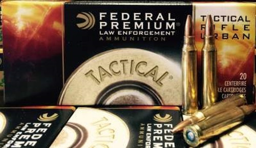 Federal 223 Remington Ammunition Tactical TRU T223E 55 Grain Sierra Gameking Boat Tail Hollow Point 20 rounds