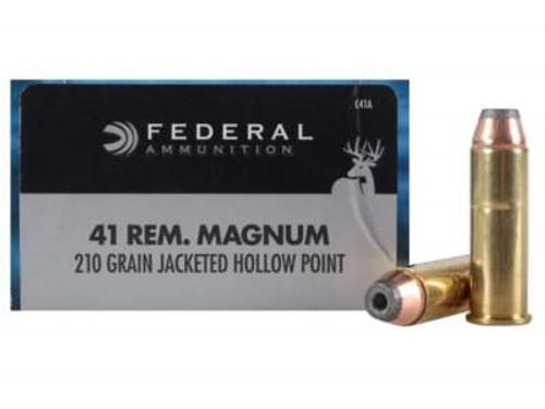 Federal 41 Mag Classic Hi-Shok C41A 210 gr JHP 20 rounds