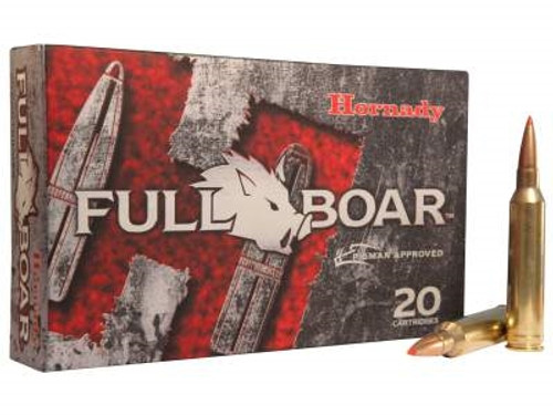 Hornady 7mm Rem Mag Ammunition Full Boar H80597 139 gr GMX 20 rounds
