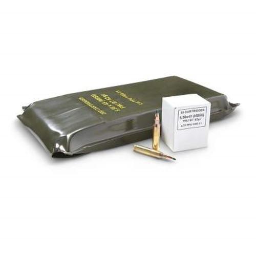 Prvi PPU 5.56x45mm NATO Ammunition M855 PP58 62 Grain Full Metal Jacket Battle Pack Case of 1000 Rounds
