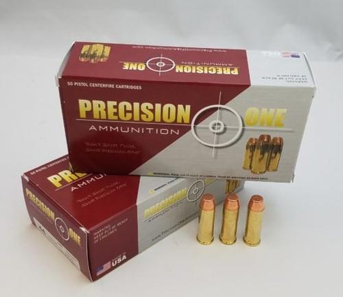 Precision One 44 Magnum Ammunition 240 Grain Full Metal Jacket 50 rounds