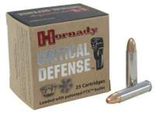 Hornady 30 Carbine Critical Defense H81030 110 gr FTX 25 rounds