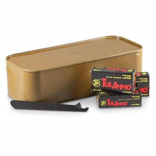Tula 9mm Luger Ammunition 115 Grain Full Metal Jacket Spam Can 900 rounds