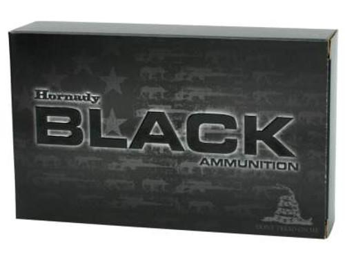 Hornady 5.56x45 NATO Ammunition Black Rifle H81296 75 Grain HD Interlock SBR 20 rounds