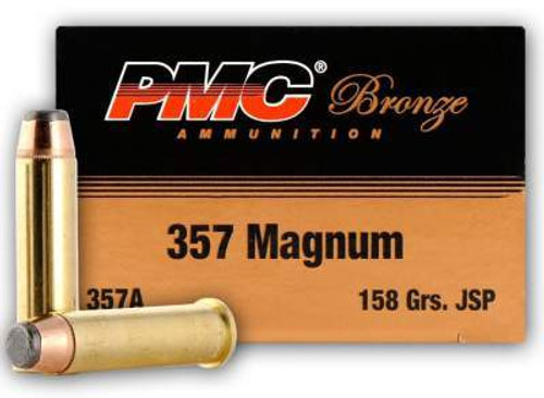 PMC 357 Magnum Ammunition PMC357A 158 Grain Jacketed Soft point 50 rounds