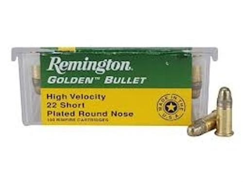 Remington R21001 22 Short Golden Bullet HV 29 GR RN 100 rounds