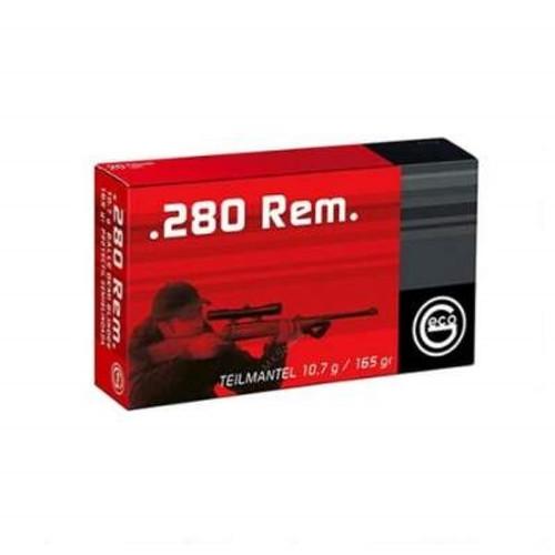 GECO 280 Remington Ammunition GE258440020 165 Grain Soft Point 20 Rounds