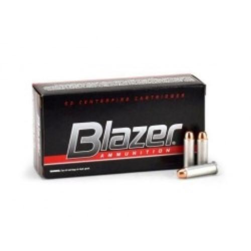 CCI 38 Special +P Ammunition Blazer CCI3518 125 Grain Full Metal Jacket 50 rounds