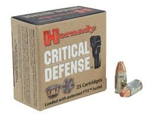 Hornady 32 North American Arms (NAA) Critical Defense H90070 80gr FTX 25 rounds