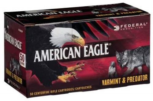 Federal 6.5mm Grendel Ammunition American Eagle AE65GDL90VP 90 Grain Jacketed Hollow Point 50 rounds