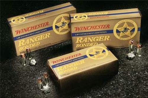 Winchester 40 S&W Ranger Q4384 165 gr Bonded JHP CASE 500 rounds