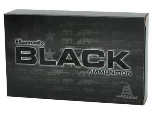 Hornady 308 Win Ammunition Black Rifle H80971 168 Grain A-MAX 20 rounds